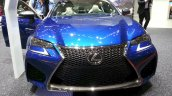 Lexus GS F front at the 2015 Geneva Motor Show