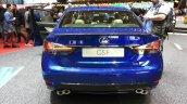 Lexus GS F rear at the 2015 Geneva Motor Show