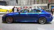 Lexus GS F side at the 2015 Geneva Motor Show