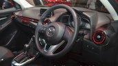 Mazda2 Sedan petrol variant cabin at the 2015 Bangkok Motor Show