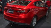 Mazda2 Sedan petrol variant taillamp at the 2015 Bangkok Motor Show