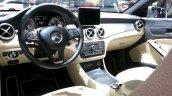 Mercedes CLA Shooting Brake dashboard at the 2015 Geneva Motor Show