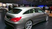 Mercedes CLA Shooting Brake rear three quarter at the 2015 Geneva Motor Show
