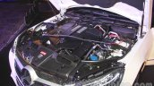 Mercedes E400 Cabriolet engine from the launch in India