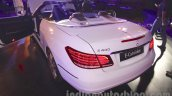 Mercedes E400 Cabriolet rear three quarter left from the launch in India