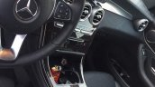 Mercedes GLC dashboard spyshot