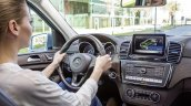 Mercedes GLE driving official image