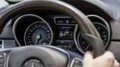 Mercedes GLE instrument cluster official image