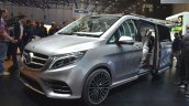 Mercedes V-ision-e concept front three quarter view at 2015 Geneva Motor Show