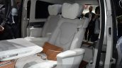 Mercedes V-ision-e concept rear seat 2 view at 2015 Geneva Motor Show