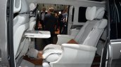 Mercedes V-ision-e concept rear seat view at 2015 Geneva Motor Show