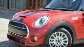 Mini Cooper S front end