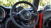 Mini Cooper S steering wheel