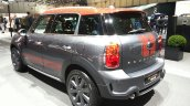 Mini Countryman Park Lane rear three quarter at the 2015 Geneva Motor Show