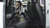 Mitsubishi Delica rear legroom at the 2015 Bangkok Motor Show