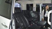 Mitsubishi Delica rear seats at the 2015 Bangkok Motor Show