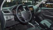 Mitsubishi L200 interior at the 2015 Geneva Motor Show