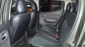 Mitsubishi L200 rear seat at the 2015 Geneva Motor Show