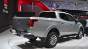 Mitsubishi L200 rear three quarter at the 2015 Geneva Motor Show