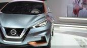 Nissan Sway Concept headlight at the 2015 Geneva Motor Show