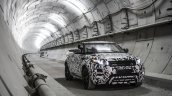 Range Rover Evoque Convertible camouflaged