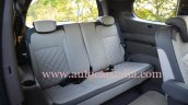 Renault Lodgy India spec rear seats