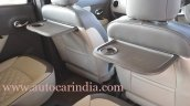 Renault Lodgy India spec seat tables