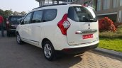 Renault Lodgy RxZ 110 PS India specification rear three quarters