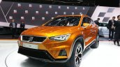 Seat 20V20 Suv Concept front three quarter view at 2015 Geneva Motor Show