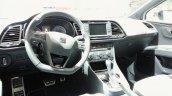 Seat Leon ST Cupra dashboard at 2015 Geneva Motor Show