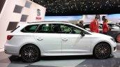 Seat Leon ST Cupra front side at 2015 Geneva Motor Show
