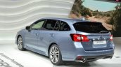 Subaru Levorg rear three quarter(2) view at 2015 Geneva Motor Show