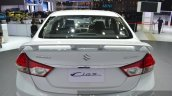 Suzuki Ciaz Aero rear spoiler at the 2015 Bangkok Motor Show