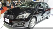 Suzuki Ciaz black front three quarter at the 2015 Bangkok Motor Show