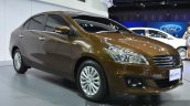 Suzuki Ciaz front three quarter at the 2015 Bangkok Motor Show