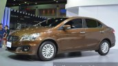 Suzuki Ciaz front three quarters right at the 2015 Bangkok Motor Show