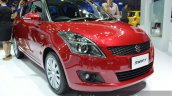 Suzuki Swift RX front three quarter at the 2015 Bangkok Motor Show