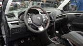 Suzuki Swift Sport interior at 2015 Geneva Motor Show
