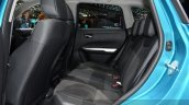 Suzuki Vitara rear seat at the 2015 Geneva Motor Show