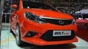 Tata Bolt Sport front three quarters left at the 2015 Geneva Motor Show