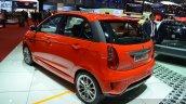 Tata Bolt Sport rear three quarters at the 2015 Geneva Motor Show