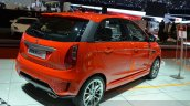 Tata Bolt Sport rear three quarters right at the 2015 Geneva Motor Show