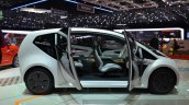 Tata ConnectNext concept side doors open at the 2015 Geneva Motor Show