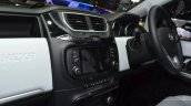 Tata Hexa dash at the 2015 Geneva Motor Show