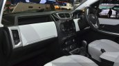 Tata Hexa dashboard passenger side at the 2015 Geneva Motor Show