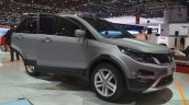 Tata Hexa door open at the 2015 Geneva Motor Show