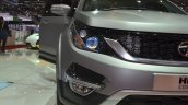 Tata Hexa headlamp at the 2015 Geneva Motor Show