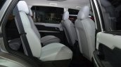 Tata Hexa rear seat at the 2015 Geneva Motor Show