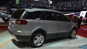 Tata Hexa rear three quarters at the 2015 Geneva Motor Show