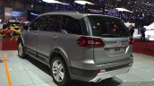 Tata Hexa rear three quarters left at the 2015 Geneva Motor Show